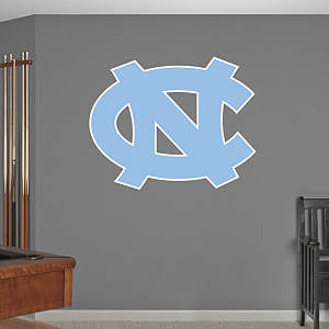 North Carolina Tar Heels Logo Fathead Wall Decal